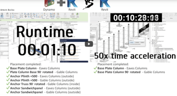 ⏳ ONE HOUR work – in ONE MINUTE. Revit – Smart Planning with Dynamo.